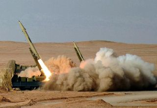 Иран использовал баллистические ракеты Fateh