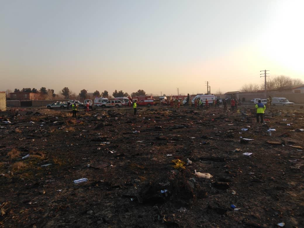 Ukraine's rep is in Iran to attend investigation meetings on plane crash