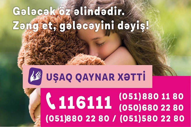 Children Hotline service supported by Azercell received 5,061 queries throughout 2019