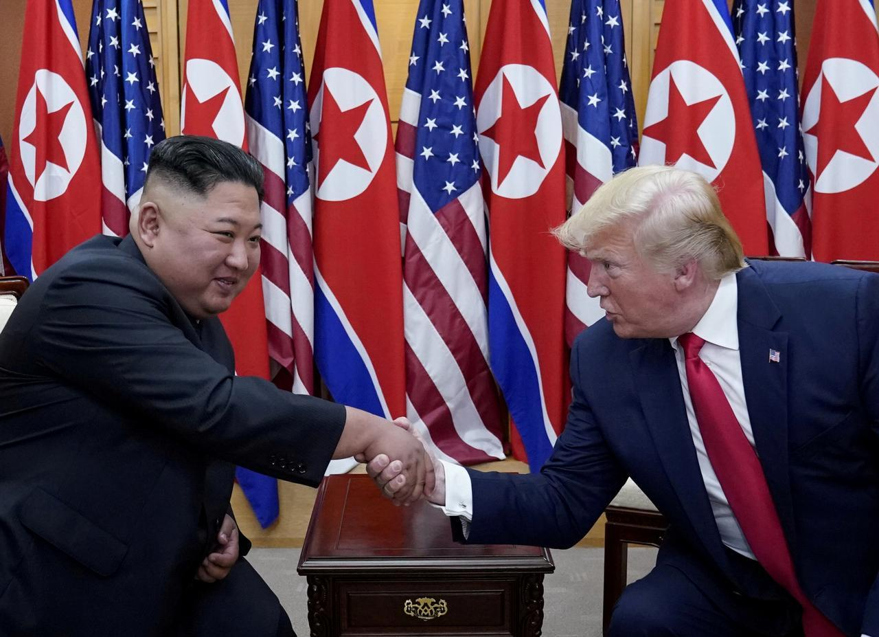 North Korea receives birthday greetings for Kim from Trump