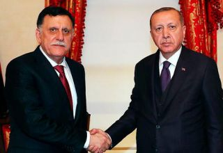 Erdogan holds meeting with Libyan GNA's Sarraj in Istanbul