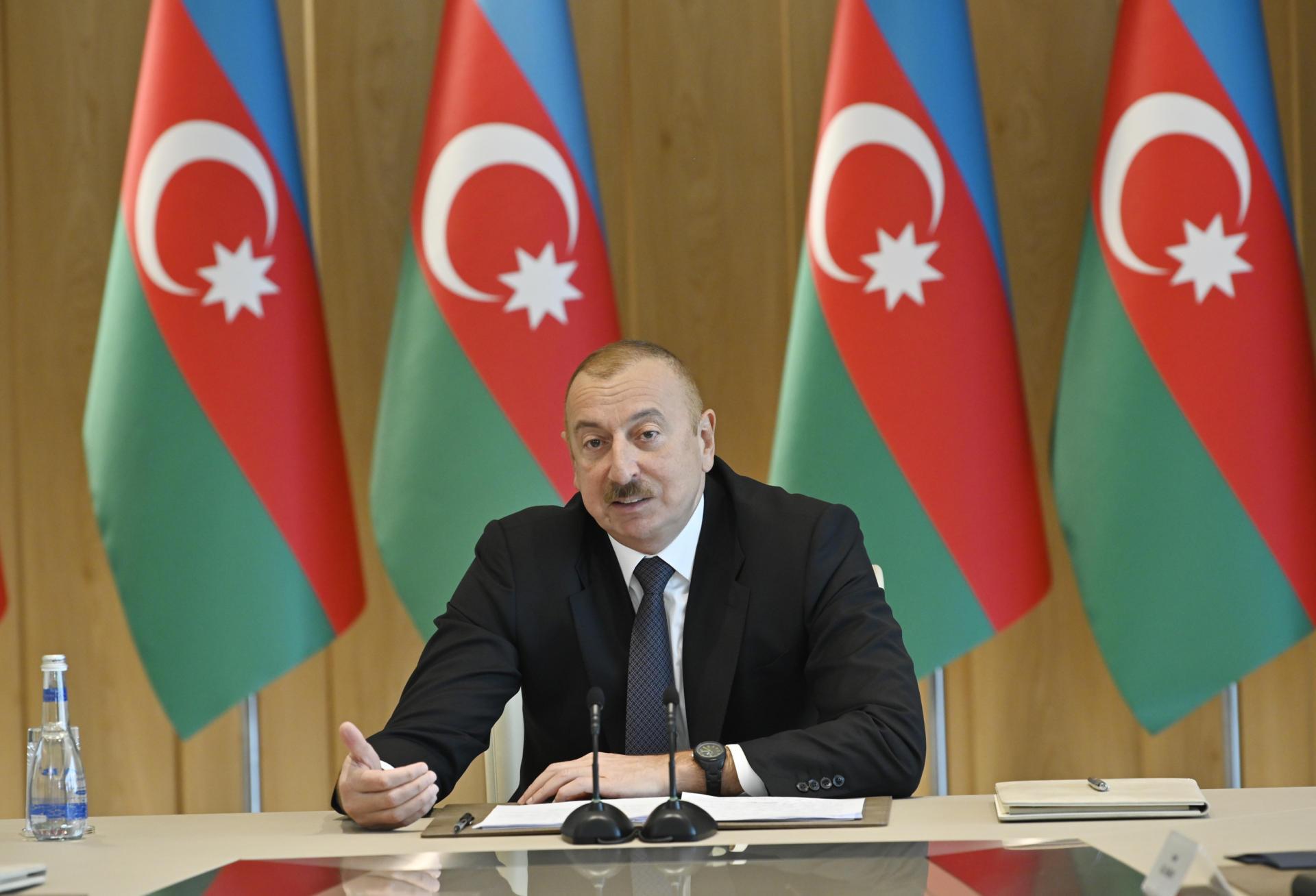 При Президенте Ильхаме Алиеве прошло совещание, посвященное итогам 2019 года (ФОТО/ВИДЕО) - Gallery Image