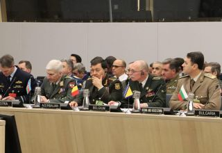 Chief of General Staff of Azerbaijani Armed Forces takes part in meeting at NATO Headquarters (PHOTO)