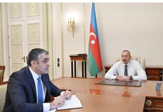 President Ilham Aliyev: Azerbaijan must continue to maintain its leading positions in field of transport, communications, high technologies in region