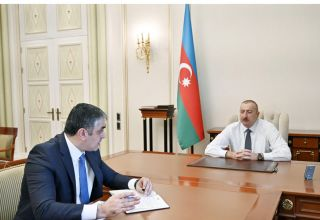 President Ilham Aliyev: Azerbaijan, which doesn't have access to world ocean, has become one of Eurasia's int'l transport centers