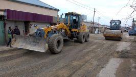 В поселках Бинагадинского района реконструируются дороги (ФОТО) - Gallery Thumbnail