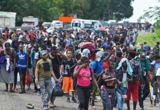 Over 2,000 migrants enter Guatemala with Mexico in their sights