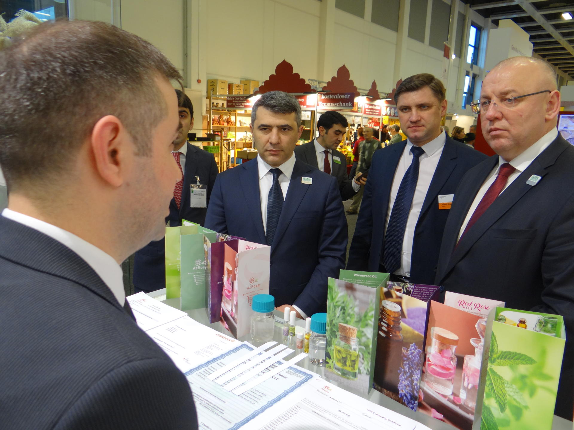 Азербайджан участвует в выставке «Международная зеленая неделя» в Берлине (ФОТО) - Gallery Image