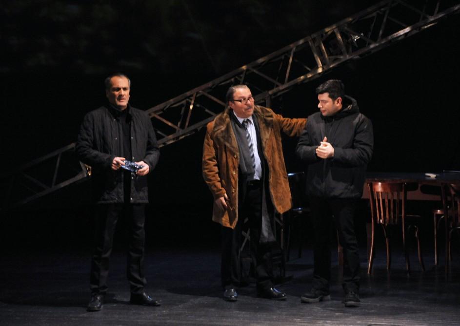 Зимние ночи города…Премьера спектакля о героях и шехидах 20 Января (ФОТО) - Gallery Image