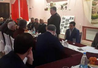 Azərbaycanın Belarusdakı səfirliyi 20 Yanvar faciəsinin şəhidlərini anıb (FOTO)