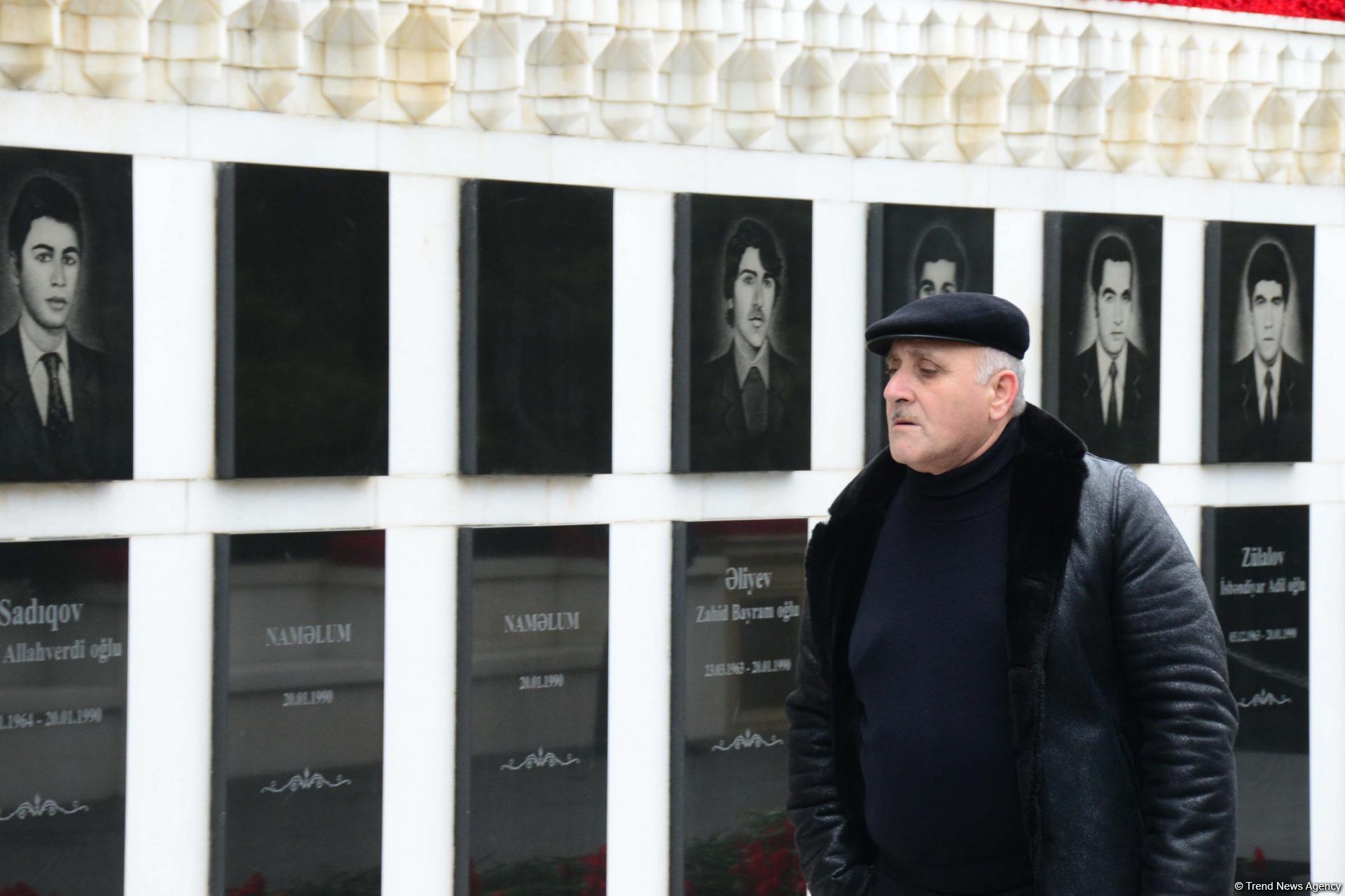 Общественность Азербайджана чтит светлую память жертв трагедии 20 Января (ФОТО) - Gallery Image