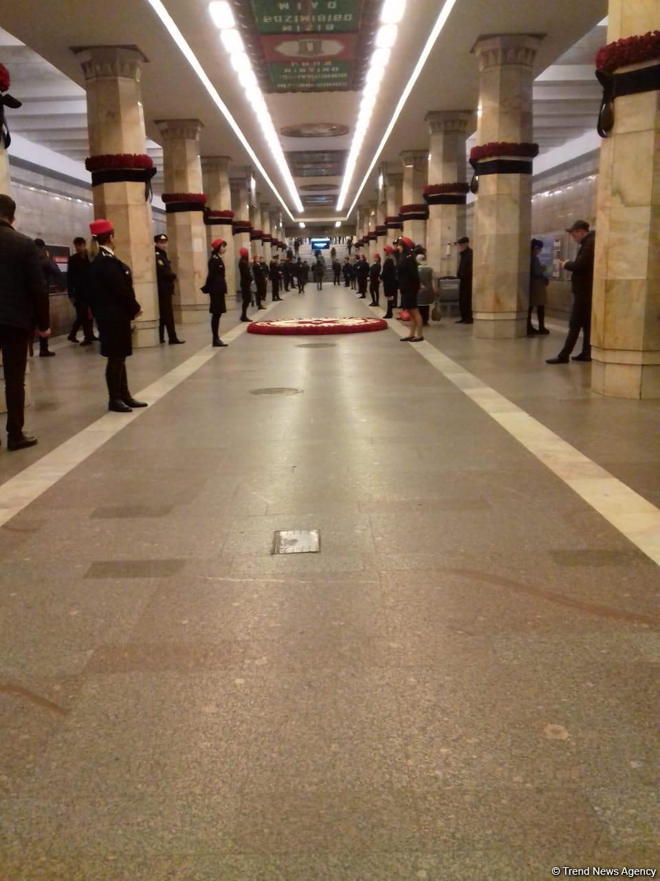 Azerbaijan holds minute of silence to honor January 20 victims (PHOTO) - Gallery Image