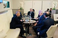 President Ilham Aliyev met with LUKOIL president in Davos (PHOTO) - Gallery Thumbnail