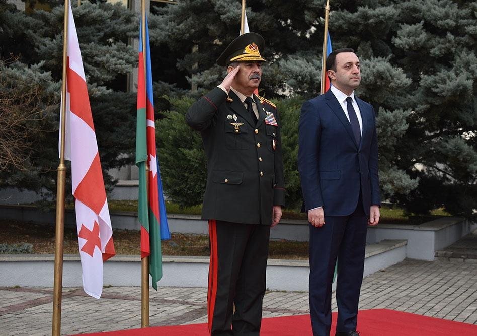Azerbaijan, Georgia ink Bilateral Cooperation Plan for 2020 (PHOTO) - Gallery Image