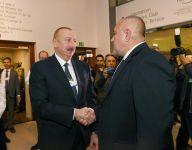 Azerbaijani president meets with Polish president in Davos (PHOTO) - Gallery Thumbnail