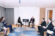 Cooperation issues discussed with Swiss Re for further development of insurance market in Azerbaijan (PHOTO) - Gallery Thumbnail