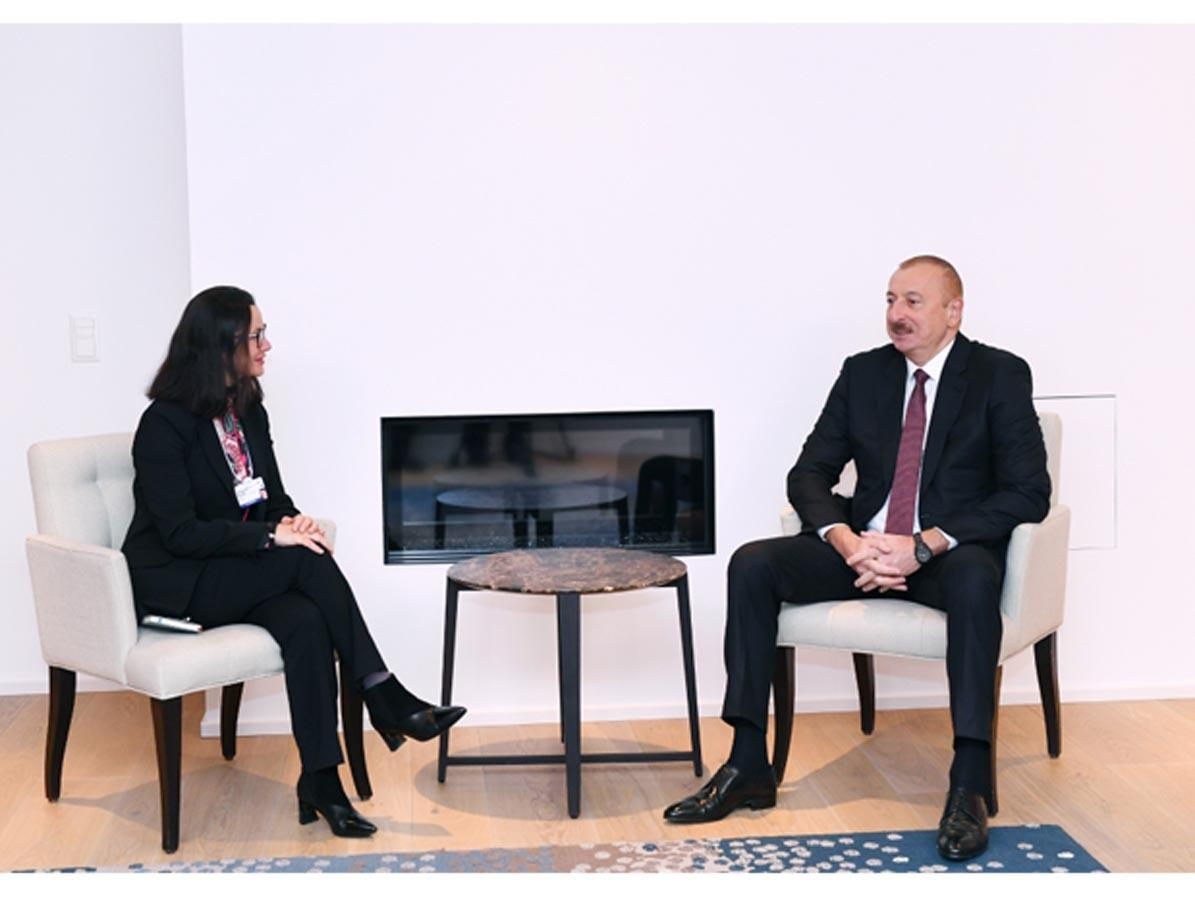 Cooperation issues discussed with Swiss Re for further development of insurance market in Azerbaijan (PHOTO)