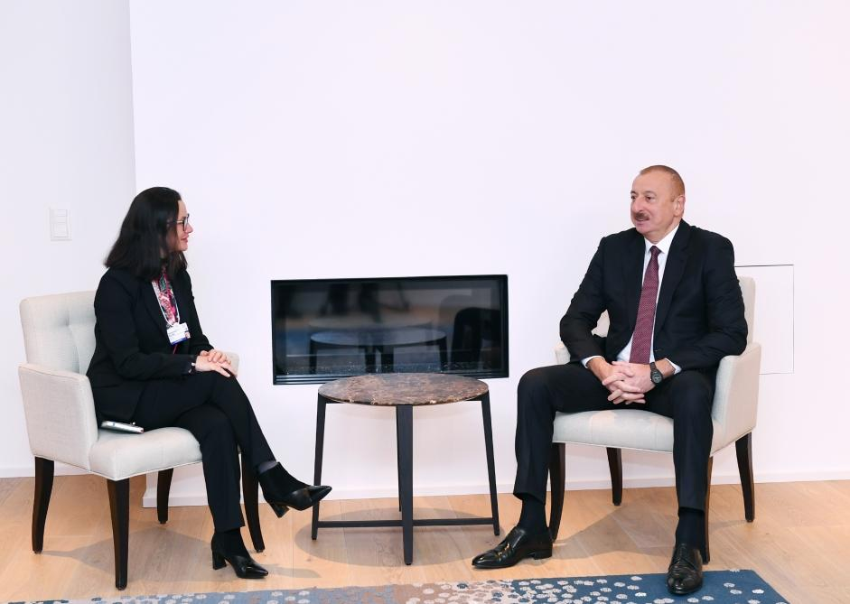 Cooperation issues discussed with Swiss Re for further development of insurance market in Azerbaijan (PHOTO) - Gallery Image