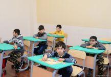 """""""Мы бесконечно благодарны Первому вице-президенту Мехрибан Алиевой за то, что она создала такие замечательные условия для наших детей"""" – репортаж из специальной образовательной школы номер 11 (ФОТО/ВИДЕО) - Gallery Thumbnail"""