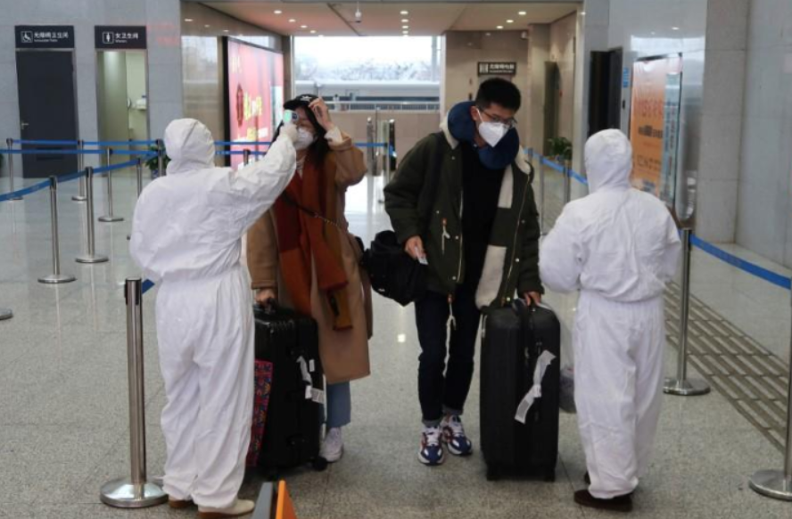 Number of coronavirus victims in China up to 2912