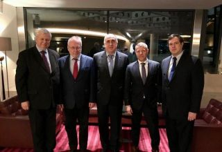 Azerbaijani FM meets with OSCE Minsk Group co-chairs