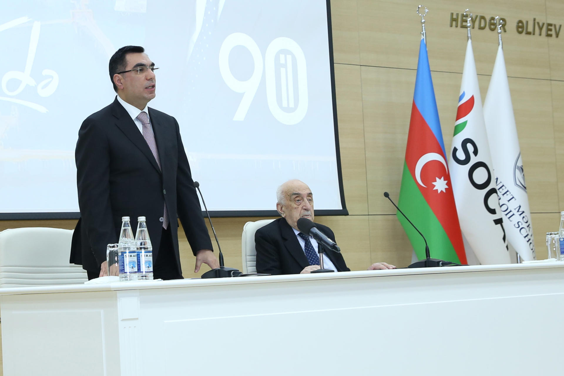 SOCAR's First Vice-president, academician Khoshbakht Yusifzadeh awarded diploma of Honorary Professor of Baku Higher Oil School (PHOTO) - Gallery Image