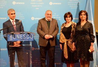 Exhibition of Azerbaijani carpets opens at UNESCO's Headquarters (PHOTO)