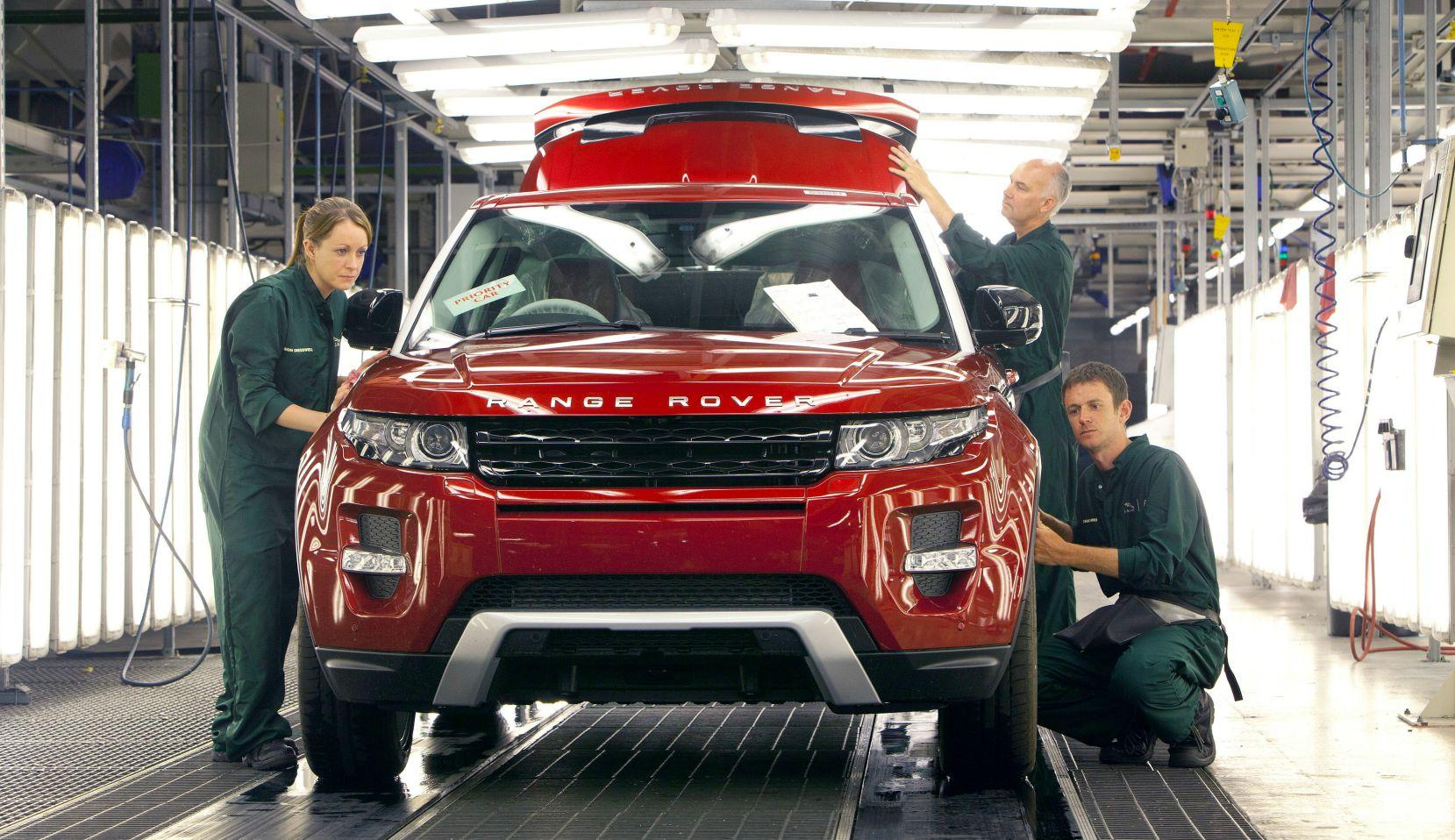 British car production falls at quickest pace since recession