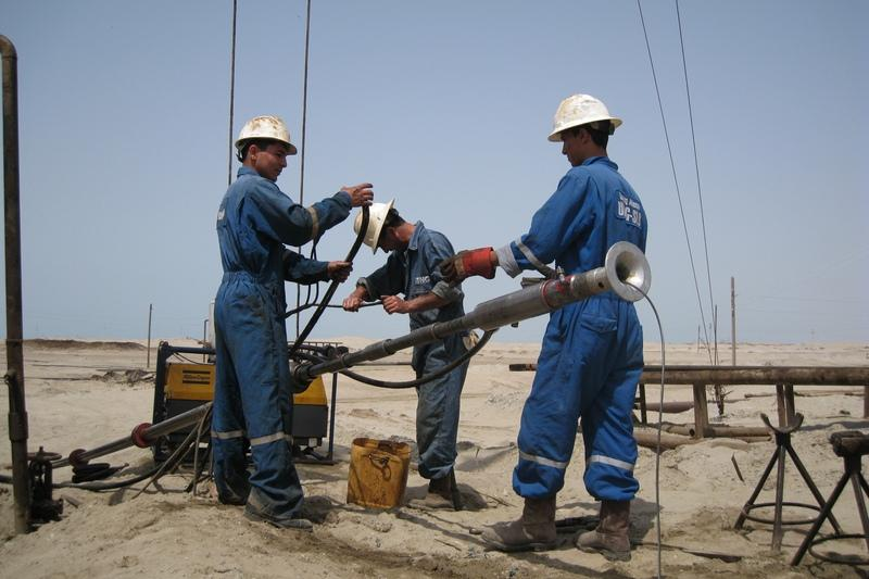 Turkmenistan working with foreign companies for major well repairs at oil field