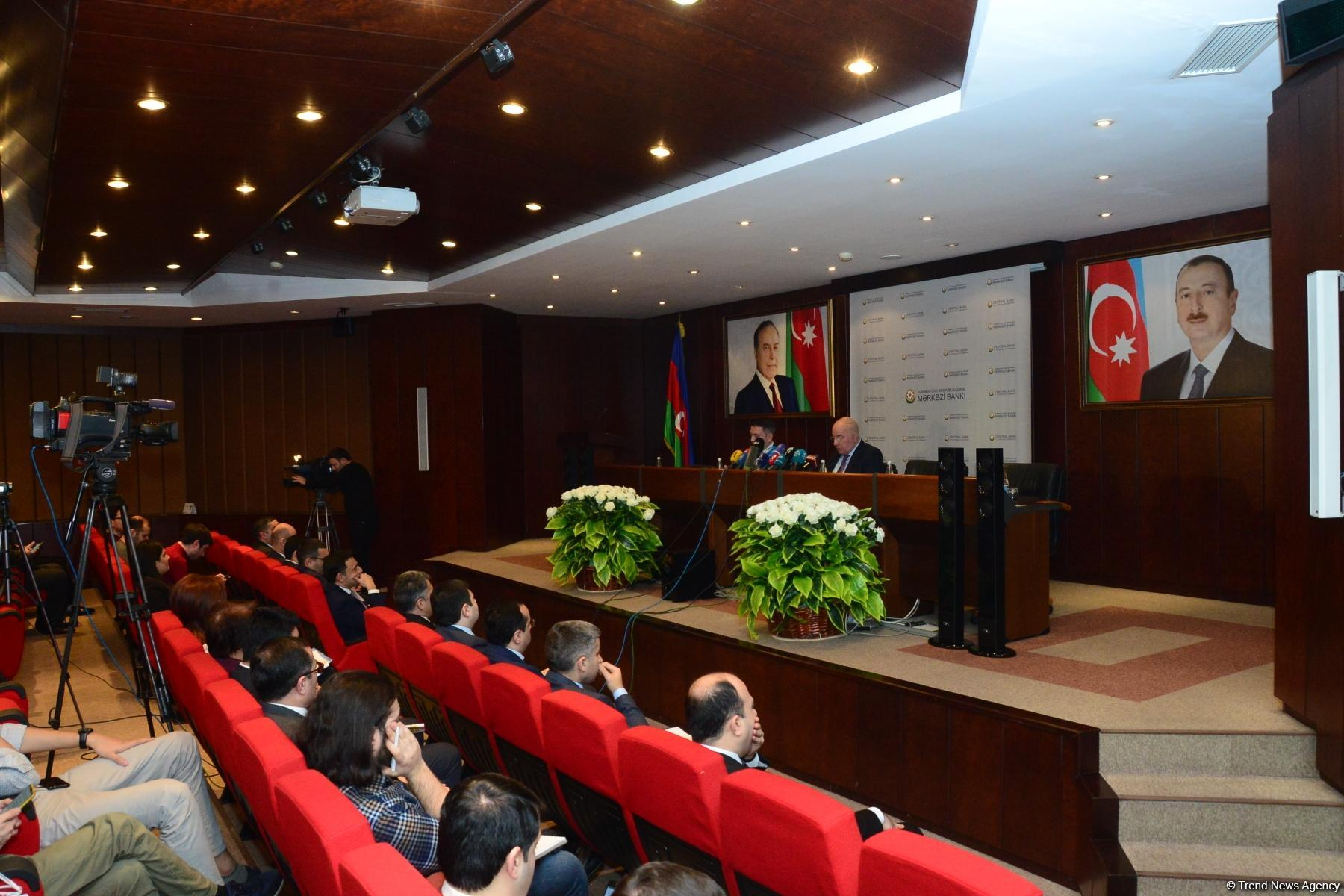 Central Bank of Azerbaijan decreases interest rate (PHOTO)