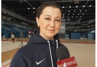 Azerbaijan Gymnastics Federation always creates best conditions for training - coach