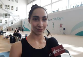 Georgian gymnast feels in Baku as at home