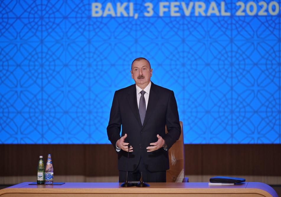 President Ilham Aliyev: Our growing economic power should first of all be aimed at improving well-being of people, and we are doing this