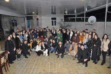 Семью Национального героя Мубариза Ибрагимова посетили участники проекта о Ходжалинском геноциде (ФОТО) - Gallery Thumbnail