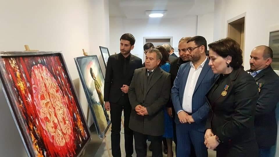 Семью Национального героя Мубариза Ибрагимова посетили участники проекта о Ходжалинском геноциде (ФОТО) - Gallery Image
