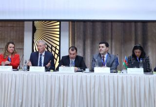 "EU-funded project ""Support and Strengthening Capacity of WTO Department of Azerbaijani Ministry of Economy in WTO Accession Negotiations"" holds its final conference (PHOTO)"