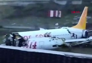 Three killed in hard landing of Turkish plane in Istanbul, number of injured rises to 179 (VIDEO) (UPDATE)