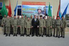 Полад Бюльбюльоглу отметил юбилей с военнослужащими (ВИДЕО, ФОТО) - Gallery Thumbnail