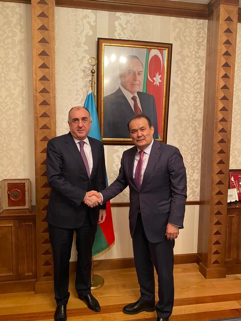 Elmar Mammadyarov meets with Secretary General of the Cooperation Council of Turkic-Speaking States (PHOTO) - Gallery Image
