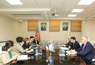 Azerbaijani Agency for Development of SMEs hosts meeting with reps of Azerbaijan-France Chamber of Commerce & Industry