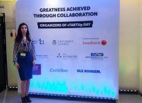 Молодой исследователь БГУ Гюнель Алиева приняла участие в программе sTARTUp Day в Эстонии (ФОТО) - Gallery Thumbnail