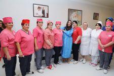 Вице-президент Фонда Гейдара Алиева Лейла Алиева побывала в родильном отделении городской клинической больницы № 3 (ФОТО) - Gallery Thumbnail