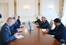 President Ilham Aliyev receives delegation led by NATO Supreme Allied Commander Europe (PHOTO) - Gallery Thumbnail