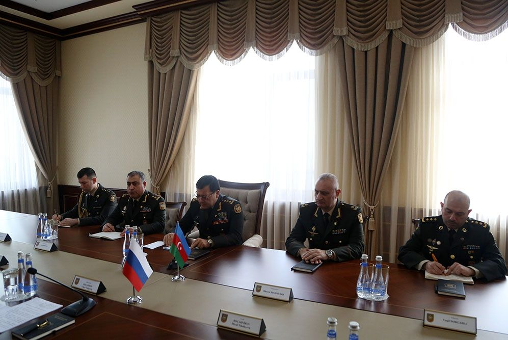 Chiefs of General Staff of Azerbaijani, Russian Armed Forces hold meeting (PHOTO/VIDEO) - Gallery Image