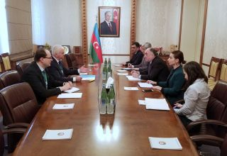 Azerbaijani FM meets with head of CIS observation mission