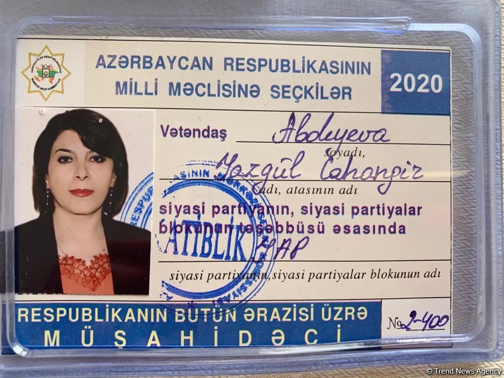 Local observer: Election process in Azerbaijan transparent (PHOTO) - Gallery Image
