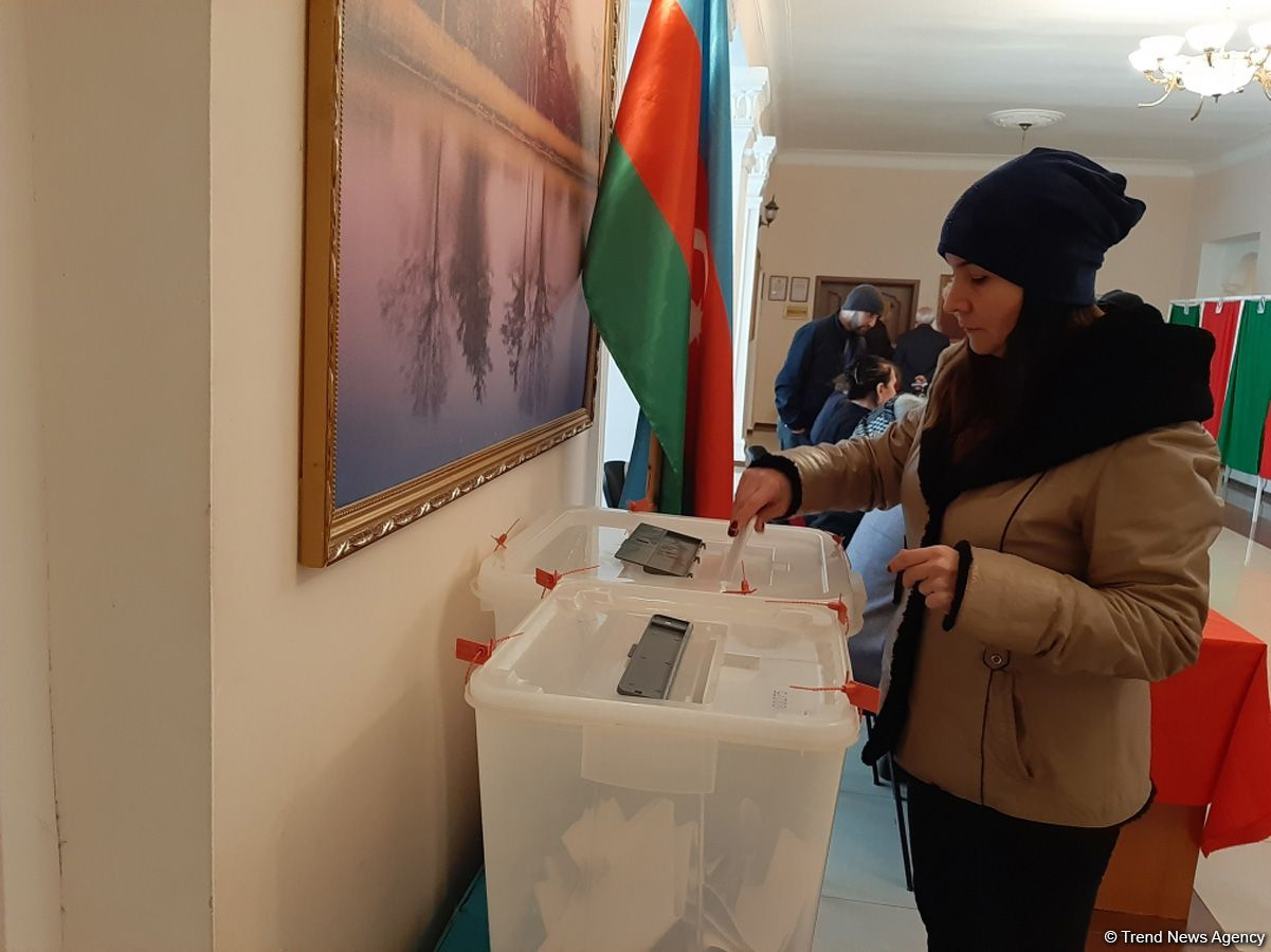 Georgian observer notes calm atmosphere at voting in parliamentary elections in Azerbaijan