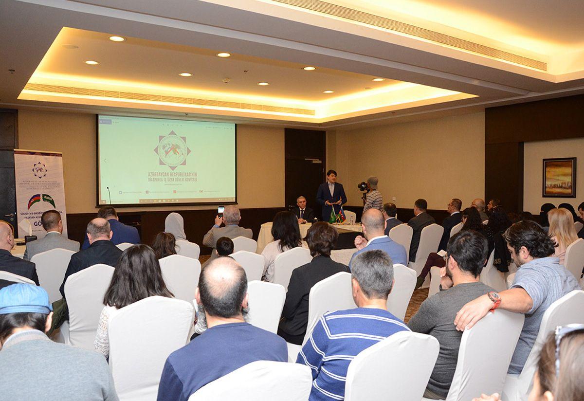 Azerbaijani state committee meets diaspora in Ar-Riyadh