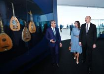 "President Ilham Aliyev presents ""Sharaf"" Order to People's Artist Alibaba Mammadov (PHOTO) - Gallery Thumbnail"