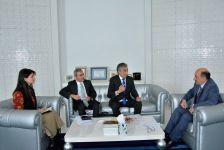 Əbülfəs Qarayev İsrail və Tacikistan səfirləri ilə görüşüb (FOTO) - Gallery Thumbnail